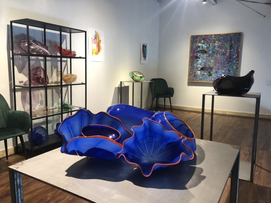 Gallery 71 serves as a place for area artists to show their own artwork. (Amy Rae Dadamo/Community Impact Newspaper)