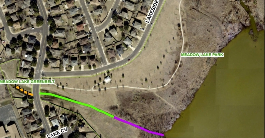 The Brushy Creek Water Control and Improvement District and Round Rock City Council have entered an agreement for the construction and upkeep of Dam 101 following a vote taken by the council Sept. 9. (Courtesy City of Round Rock)