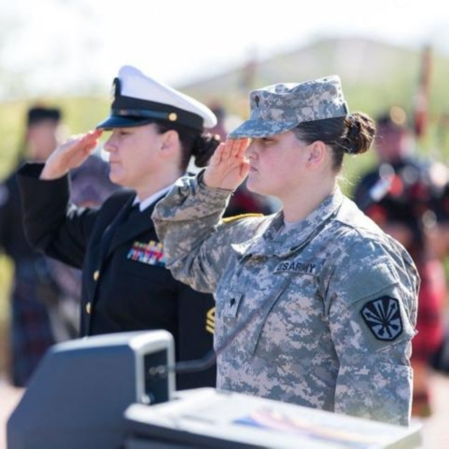 The city of Chandler is encouraging Chandler veterans to share their stories to be featured in the second annual Chandler Path of Honor—a path along the lake at Veterans Oasis Park that pays tribute to the city's veterans.(Courtesy city of Chandler)