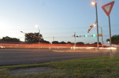 The Texas Department of Transportation anticipates traffic counts at the intersection of  RM 620 and Anderson Mill Road to increase by 14% by 2025. Improvements are not scheduled to begin until 2027 at the earliest. (Iain Oldman/Community Impact Newspaper)