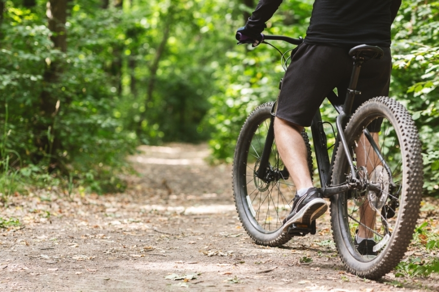 The hike and bike trail will connect to area destinations and other trails. (Courtesy Pexels)