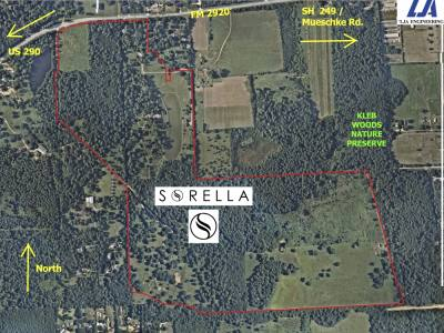 Construction has begun on Sorella, an 838-homesite development along FM 2920 near Mueschke Road. (Courtesy Sorella)
