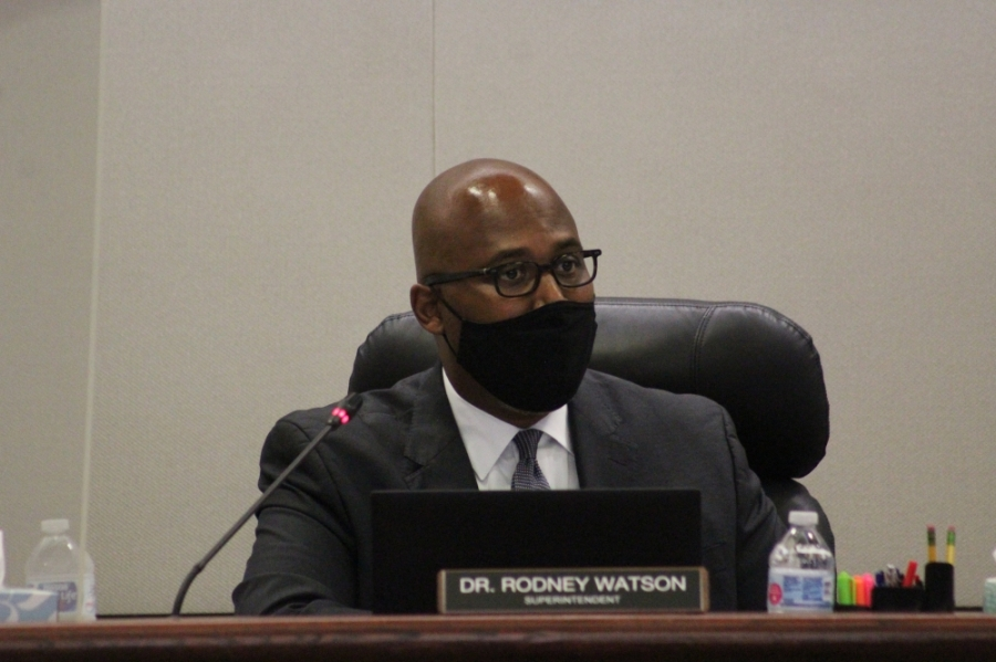 Spring ISD Superintendent Rodney Watson made the call to close schools Sept. 14 due to Tropical Storm Nicholas. (Emily Lincke/Community Impact Newspaper)