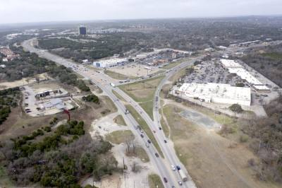 The court denied a motion for a preliminary injunction to stop construction of the Oak Hill Parkway on Sept. 13. (Courtesy Falcon Sky Photography)