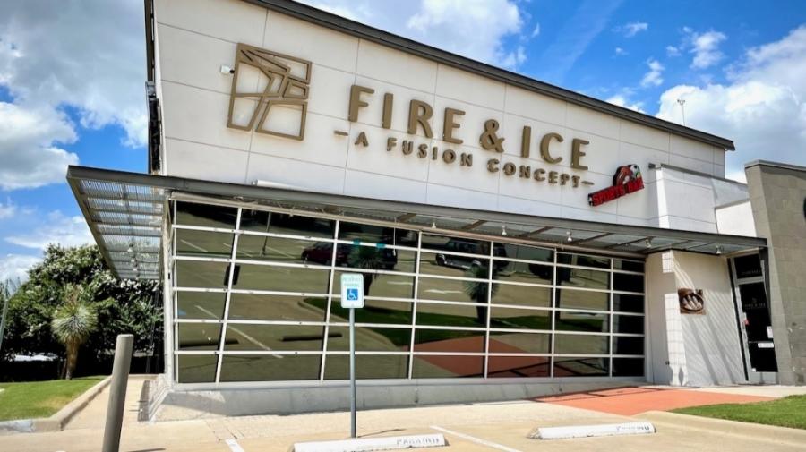 Fire & Ice sports bar is closed at 2550 Preston Road, Frisco. (Matt Payne/Community Impact Newspaper)