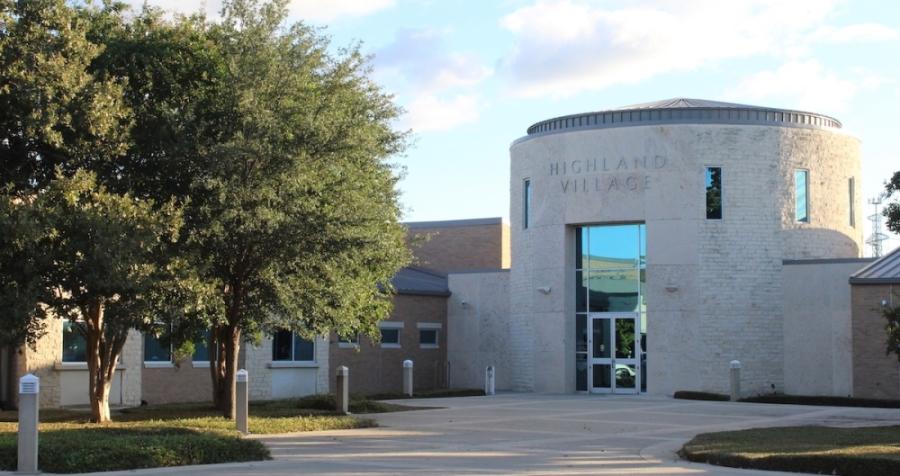 Highland Village Municipal Complex.