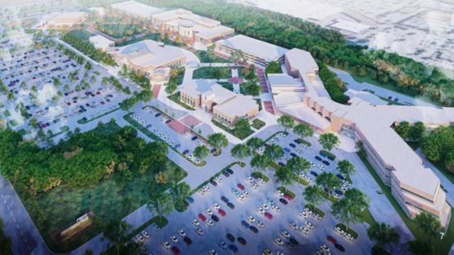 Renovations are taking place at the Collin College McKinney campus. (Rendering courtesy Collin College)