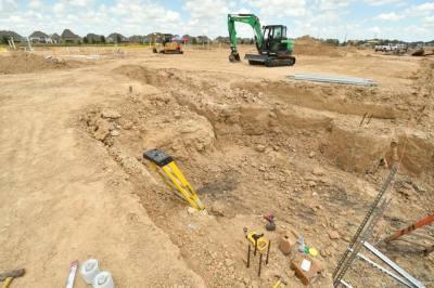 Construction has begun on Elementary School No. 57. (Courtesy Cy-Fair ISD)