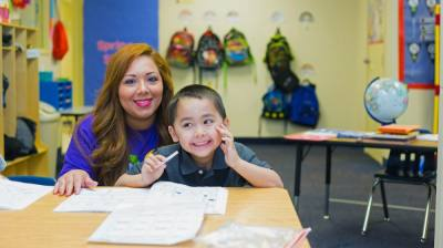 The tuition-free, early intervention school for students on the autism spectrum serves children in pre-K, kindergarten and first grade. (Courtesy Foundation School of Autism - Plano)