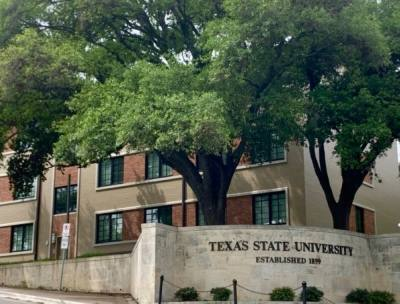 UFCU pledged up to $100,000 in scholarships to Texas State University students for the 2021-22 school year. (Joe Warner/ Community Impact Newspaper)