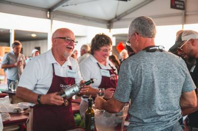 """The theme for this year's GrapeFest is """"Texas Wine. Come and Taste It!"""" (Courtesy Grapevine Convention and Visitors Bureau)"""