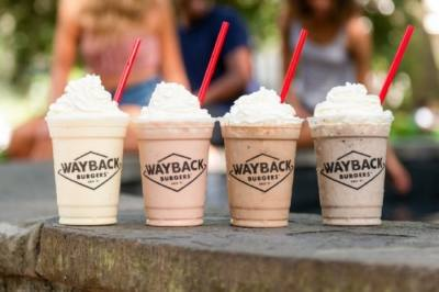 Wayback Burgers specializes in cooked-to-order burgers and hand-dipped milkshakes. (Courtesy Wayback Burgers)