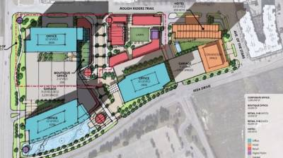 On Sept. 21, Frisco City Council approved a more than $19 million land sale to Alterra Capital Management. Alterra acquired Pennant Park, 14.6 acres of land just south of Dr Pepper Ballpark, and is required to redevelop the area. (Courtesy city of Frisco)