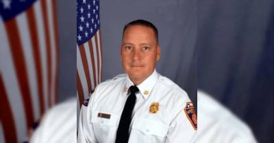 Glaiser has been with the Round Rock Fire Department since 1995, having risen through the department's ranks. (Courtesy city of Round Rock)