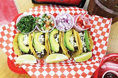 The eatery serves authentic Mexican foods such as tacos, quesadillas and tortas. (Carina Smith/Community Impact Newspaper)