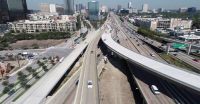 The Texas Department of Transportation will close all northbound and southbound main lanes of I-69 Southwest Freeway at I-610 West Loop on Sept. 24-27 and from Oct. 1-4. (Courtesy Texas Department of Transportation)