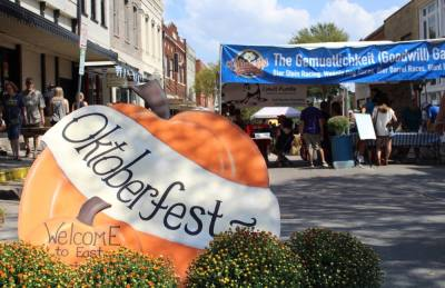 McKinney Oktoberfest will feature authentic German food, music and games this year in downtown McKinney. (Cassidy Ritter/Community Impact Newspaper)