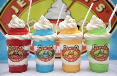 Jeremiah's Italian Ice, a Florida-based company, sells gelato, Italian ice and soft ice cream treats. (Courtesy Jeremiah's Italian Ice)