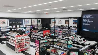 beauty products in store