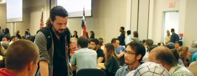 A forum addressing proposed laws to expand gun rights at colleges drew Lone Star College students, faculty and community members to the LSC-CyFair Conference Center on March 31.