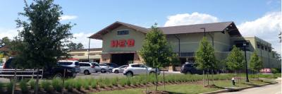 As part of its concessions to Creekside Park, the Woodlands Development Company will plant more trees around the H-E-B shopping center.