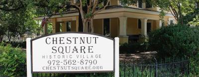 The flagship of the Chestnut Square Historic Village is the Dulaney House.