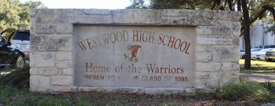 Westwood High School is located at 12400 Mellow Meadow Drive, Austin.