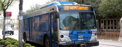 Capital Metro is proposing consolidating the Airport Flyer Route 100 and Route 20 into a new MetroRapid Route 820, which would provide 10-minute service to the airport.