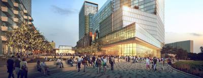 Central Health hopes to see new mixed-use develop with a medical research and service focus on the 14.3-acre Brackenridge campus in downtown Austin.