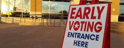 Early voting in the November 8 election runs from Oct. 24-Nov. 4
