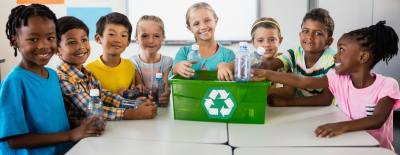 Cy-Fair ISD elementary and middle schools have removed the recycling bins from their campuses.