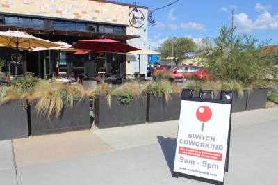 Switch Coworking, which uses unused restaurants as a coworking space during the day, launched this week.