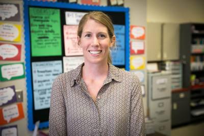 AISD's Becker Elementary School teacher named the 2017 Texas Elementary Teacher of the Year