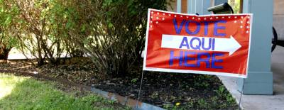 Early voting in the November 2016 election began Oct. 24. Election Day is Nov. 8.