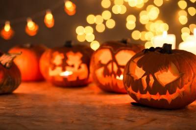 Halloween is Monday, Oct. 31.