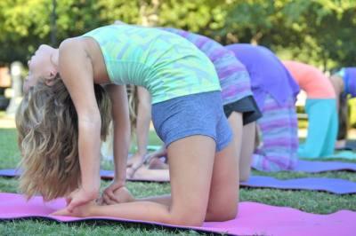 FlyKids Yoga Southlake recently opened.