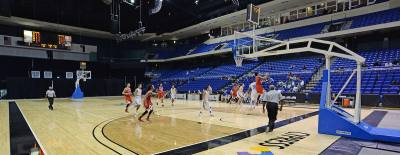 The annual Cy-Hoops basketball tournament raises funds for student scholarships.