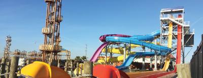 Typhoon Texas is on track to open May 26.