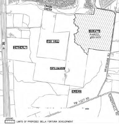 Bella Fortuna was approved as a development district east of I-35 in Travis County at a Travis County Commissioners Court meeting Oct. 31, 2017.