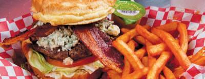 Jax Burgers serves made-to-order nhamburgers as well as fries and shakes.