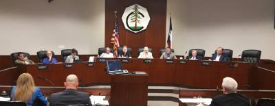 Conroe City Council  discussed several agenda items at its regular meeting.
