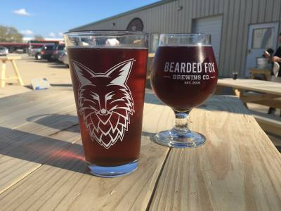 Bearded Fox Brewing Co. is located at 11729 Spring Cypress Road, Tomball, in the Plaza One Shopping Center.