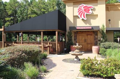 Patron Azteca, located on FM 1488 in Magnolia, offers patio space.