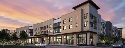Overture will open this July in the Mueller development and will have 201 one- and two-bedroom units geared toward active adults age 55 and older.