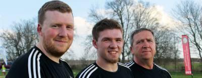 Stephen Williams, Adam WIlliams and Derek Williams run Britannia Soccer Academy.