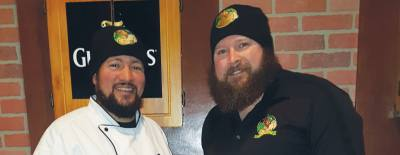 Chef Bradly Pitre (left) and owner Sean Bielstein  are part of the team that runs Clancyu2019s Public House.