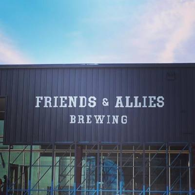 Friends & Allies Brewing opens tasting room today in East Austin