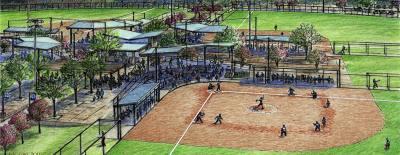 Oak Grove Softball Complex will undergo renovations and upgrades.