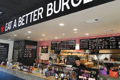 All Star Burger's  second location in Davenport Ranch is now open.