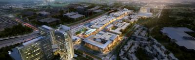 The giant mixed-use development at Legacy West will celebrate its grand opening in Plano from June 2-4, 2017.